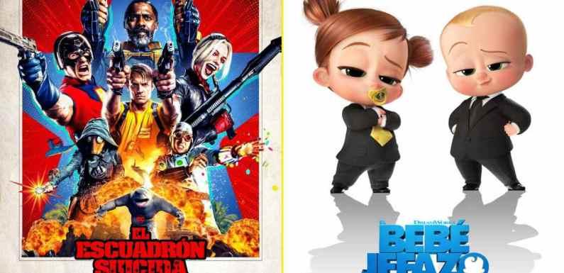 'El Escuadrón Suicida' y 'El bebé jefazo: Negocios de familia' destacan entre los estrenos de cine del fin de semana