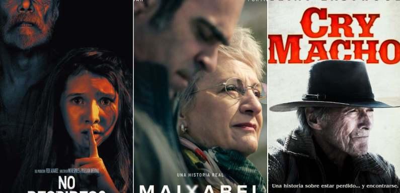 'No respires 2 ', 'Maixabel' y 'Cry Macho' destacan entre los estrenos de cine del fin de semana