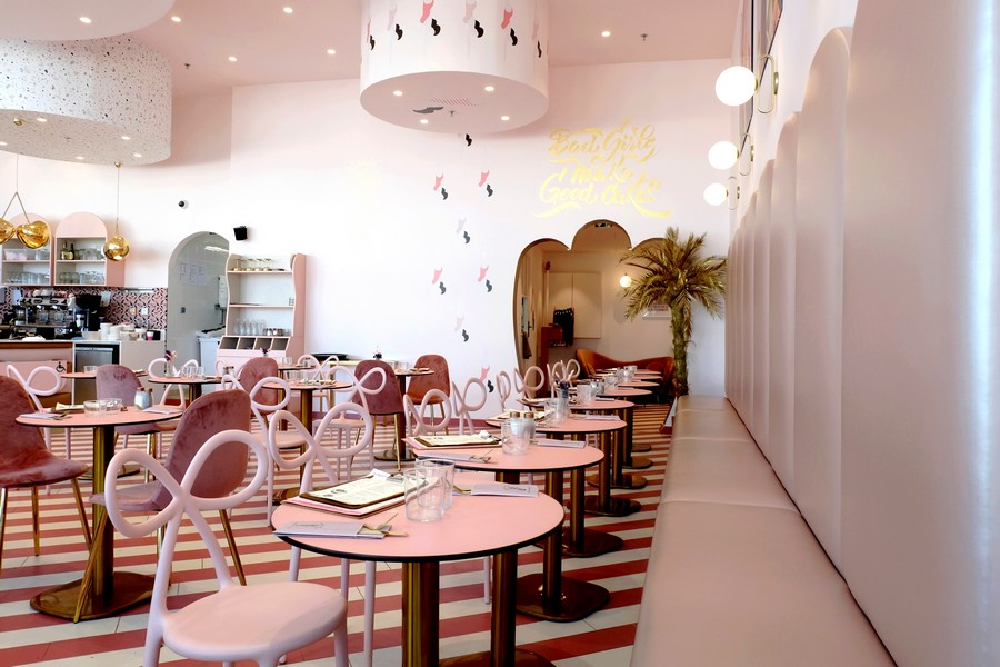 Salle de restaurant Bad Girls Good Cakes
