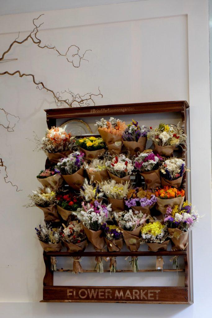 Flower market du Café Brindille