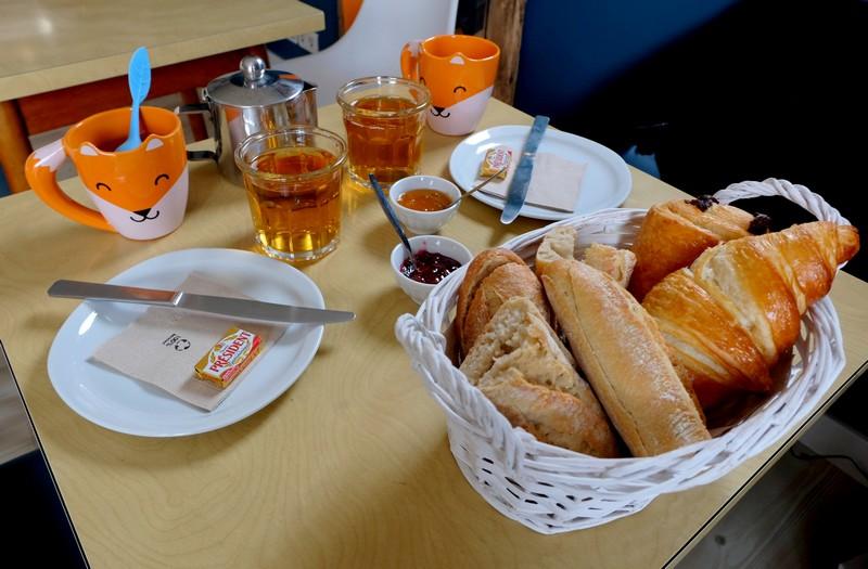 Petit-déjeuner au Camping Le Cians à Beuil