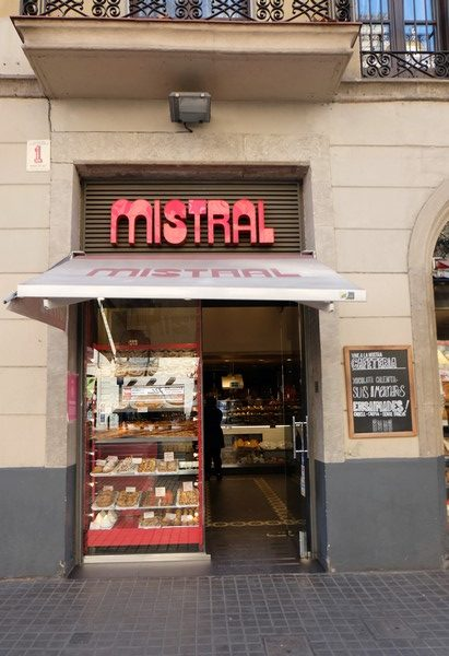 Boulangerie Mistral à Barcelone