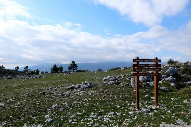 Chemin de randonnée du Tour du Mont Chauve