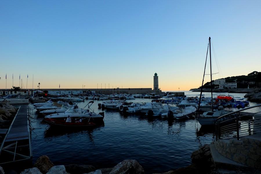 Le port de Cassis et ses bateaux