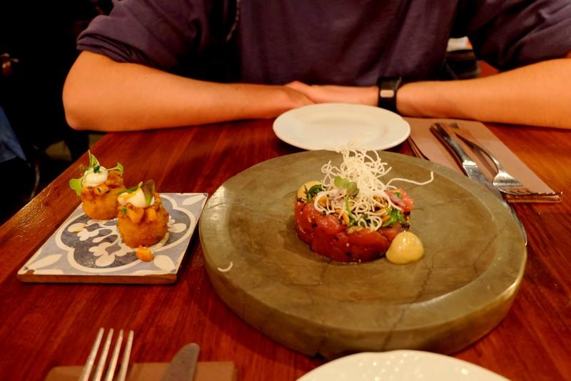 Tapas du restaurant Sensi Bistro à Barcelone