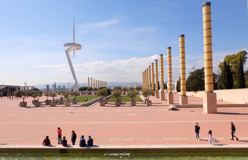 Village olympique à Barcelone