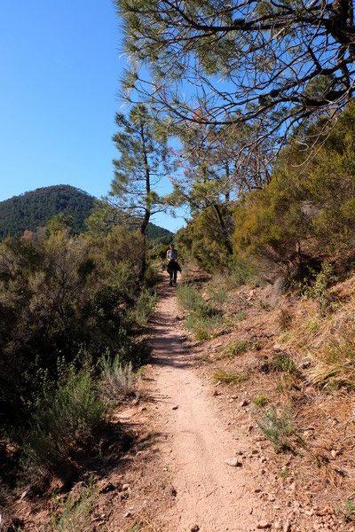 Sentier de randonnée dans le Massif de l'Estérel