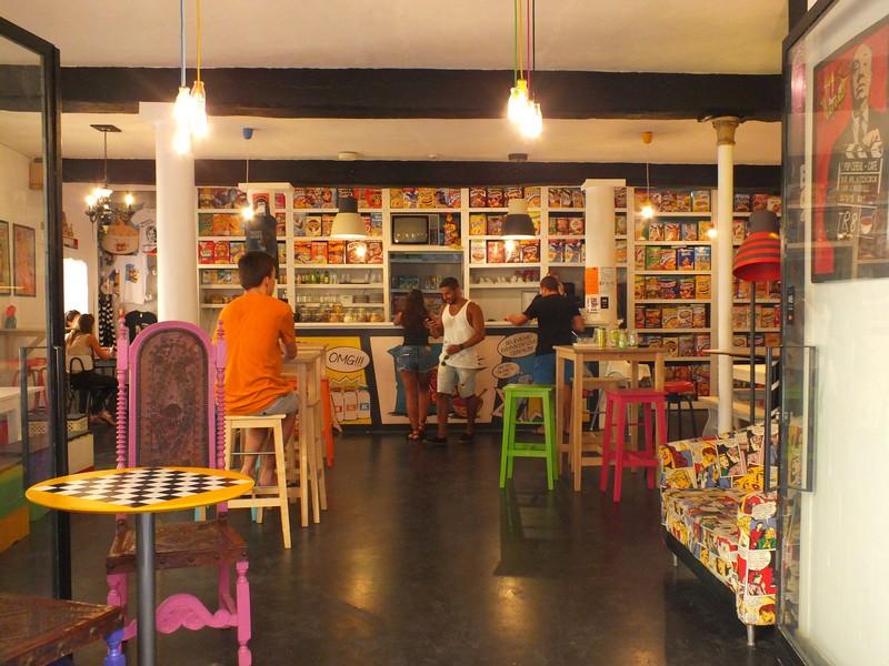 Bar à céréales à Lisbonne