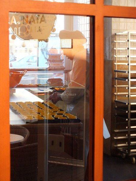 Fabrication de pasteis de nata