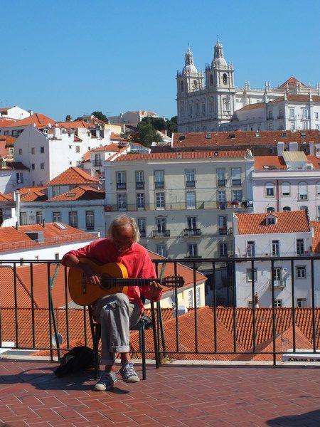 Guitariste à Lisbonne