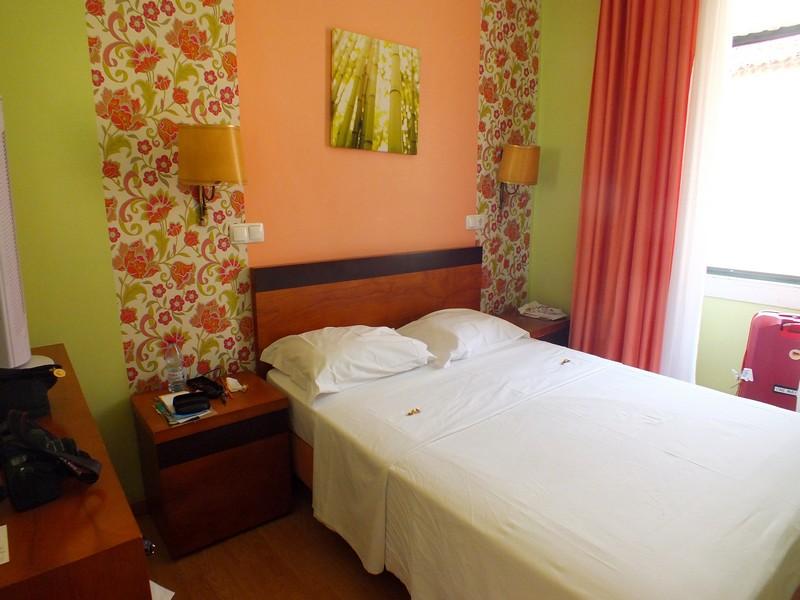 Chambre d'hôtel à Lisbonne