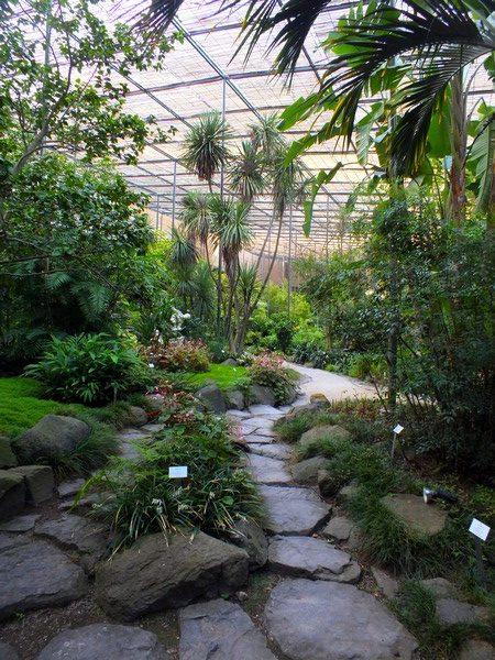 Serres tropicales au Parc Eduardo VII