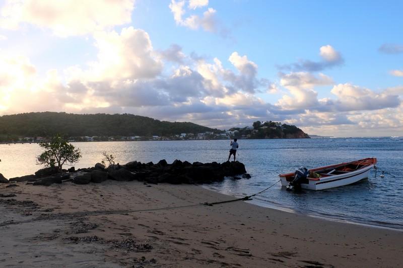 Plage de Tartane en Martinique