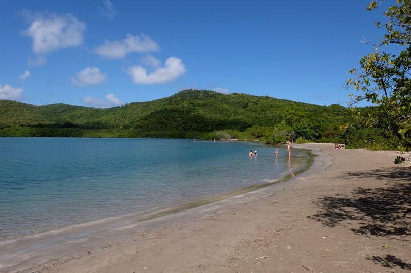 Plage de la Presqu'île de la Caravelle