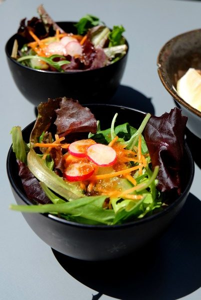 Plat du restaurant japonais Akoya à Nice