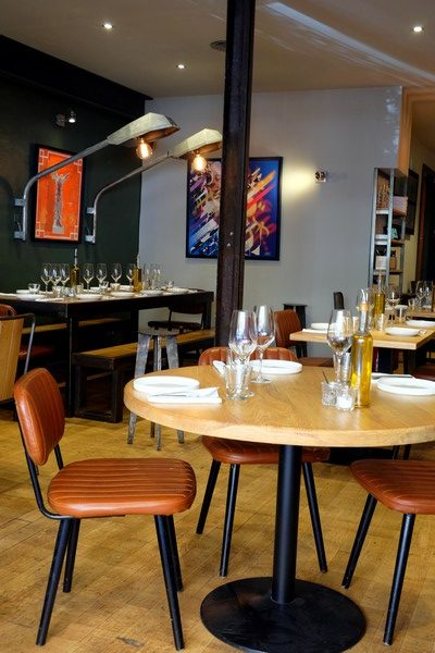La salle du restaurant l'Uzine