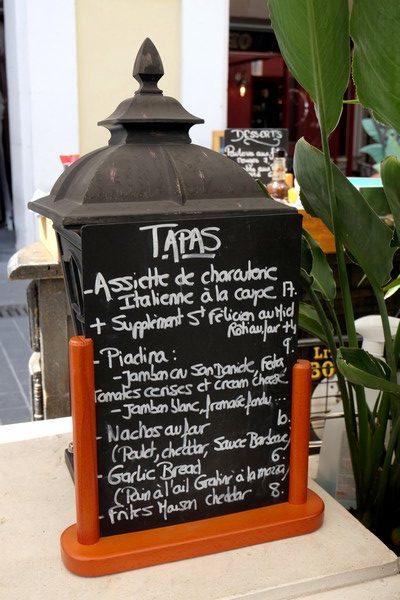 Restaurant de tapas à Nice