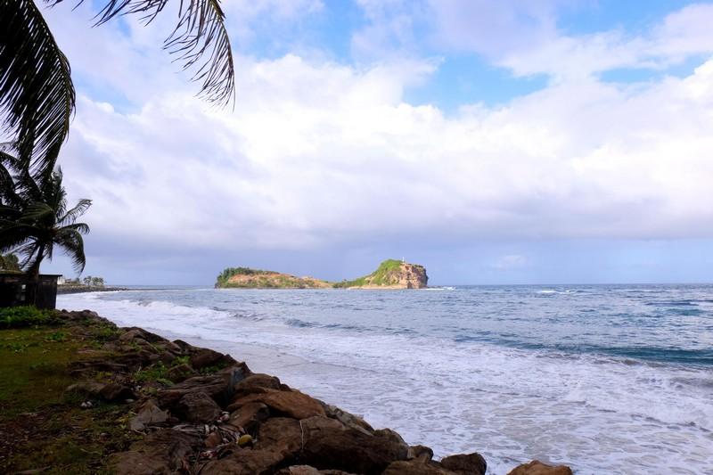 Tombolo de Sainte-Marie en Martinique