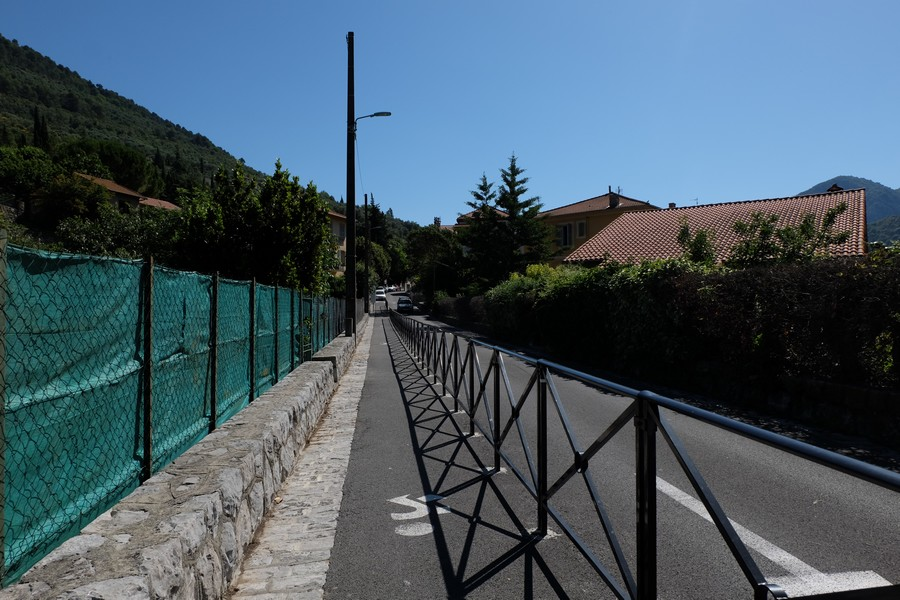 Chemin de randonnée à Sospel