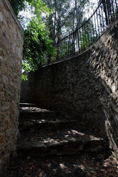 Chemin de randonnée au Cap Ferrat