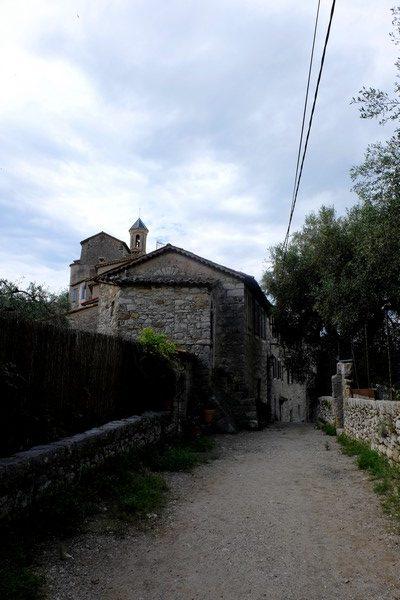 Entrée du village de Peillon