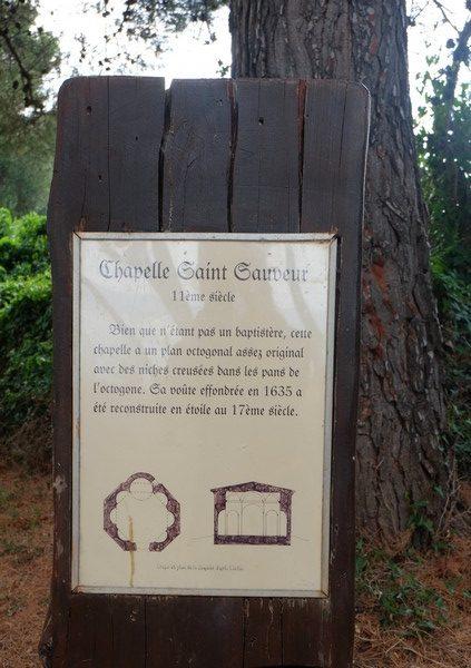 Visiter la Chapelle Saint-Sauveur sur l'Île Saint-Honorat