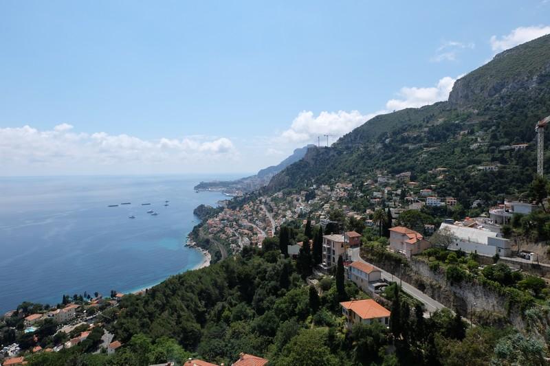 Panorama depuis Roquebrune-Cap-Martin