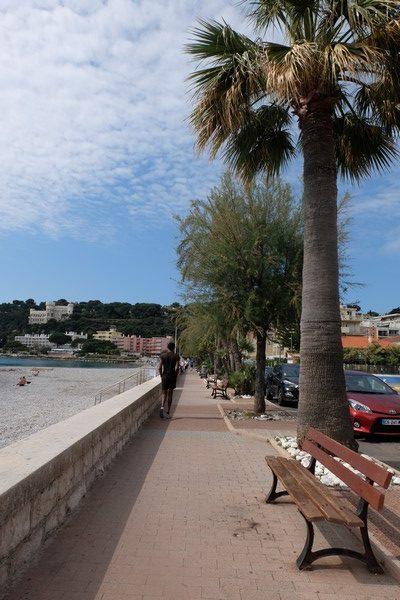 Plage de Carnolès à Roquebrune-Cap-Martin