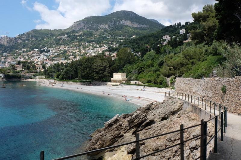 Plage à Roquebrune-Cap-Martin