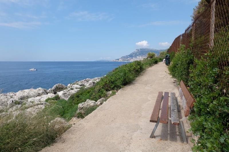 Tour du Cap Martin par le sentier du littoral
