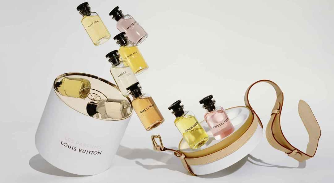 Notre Avis sur la marque de parfum Louis Vuitton. Photo des échantillons