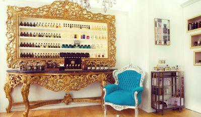 La superbe parfumerie Sens Unique au cœur du Marais à Paris