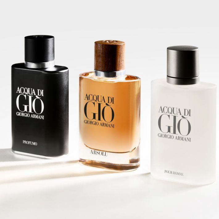 Blockbusters increvables, les parfums mainstream homme Acqua Di Gio d'Armani