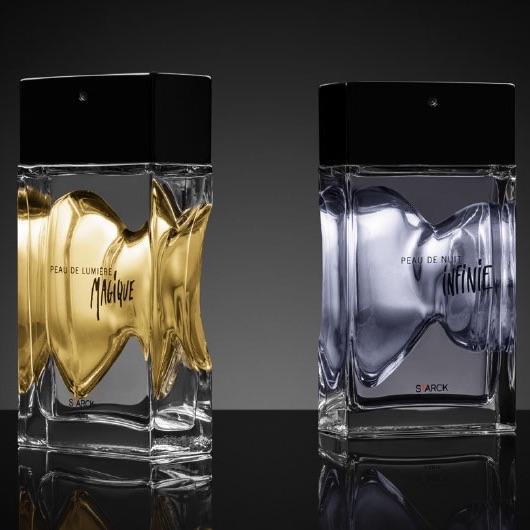 Peau de Nuit Infinie & Peau de Lumière Magique, Philippe Starck, une parfumerie de Niche Accessible