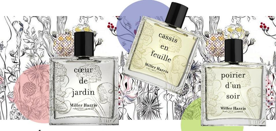 Parfumerie de Niche britannique, Miller Harris une marque variée et accessible
