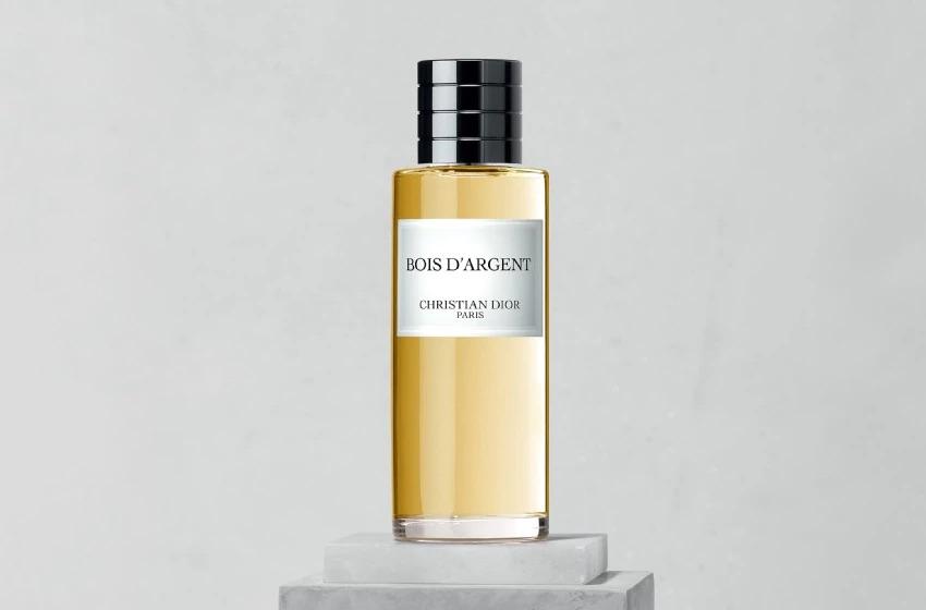 Flacon de Bois d'Argent, collection privée de Christian Dior