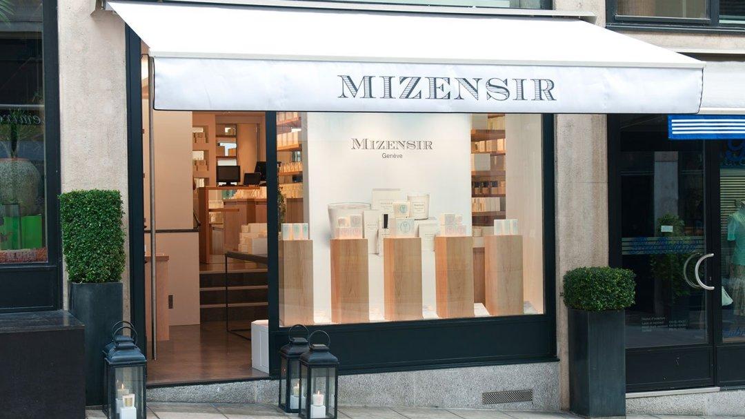 Boutique Mizensir à Genève.