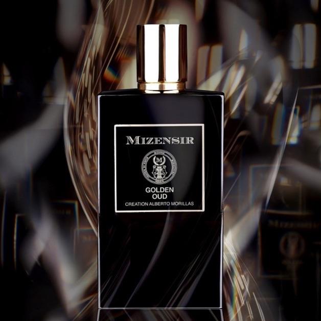 Le parfum Golden Oud de Mizensir. La Parfumerie Podcast donne son avis