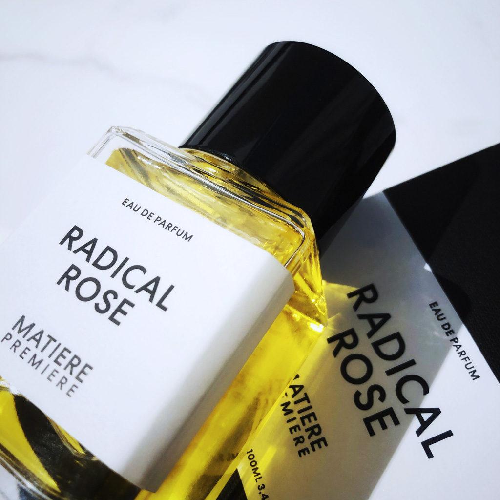 Avis en rafale sur quelques parfums, Radical Rose de Matière Première