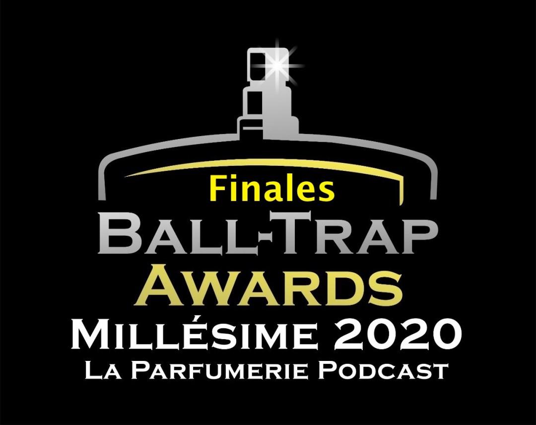 Finalistes des Ball-Trap Awards du Parfum - Millésime 2020