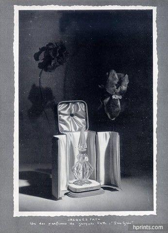 Iris Gris parfum légendaire de Jacques Fath