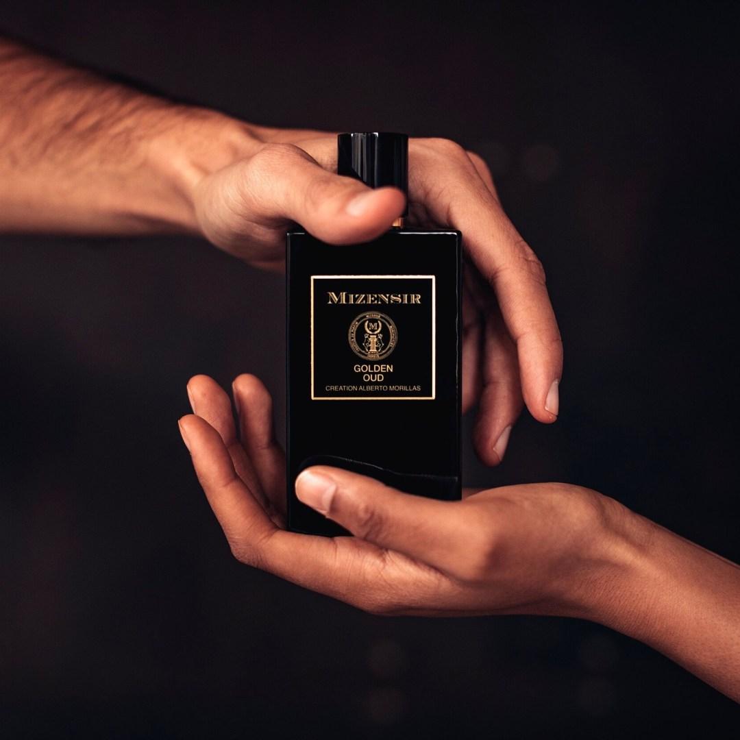 Meilleurs parfums 2020 : Golden Oud de Mizensir. Balle d'Argent aux Ball-Trap Awards de La Parfumerie Podcast