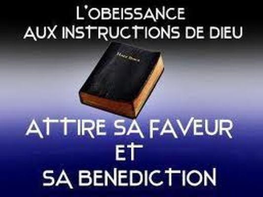 L'OBÉISSANCE VAUT MIEUX QUE LES SACRIFICES .