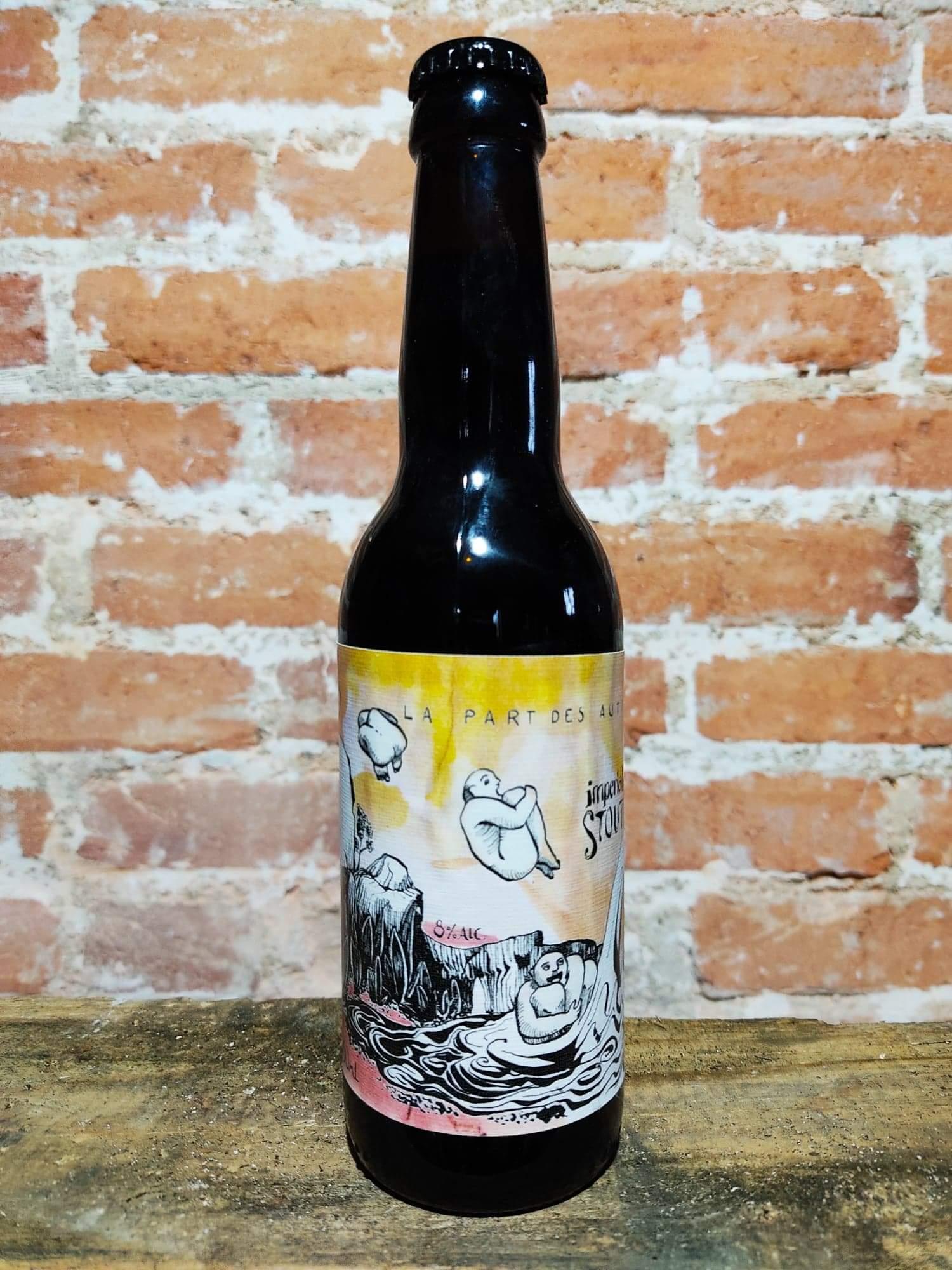 bière Impérial Stout La Brasserie La Part Des Autres Saint Just La Pendue