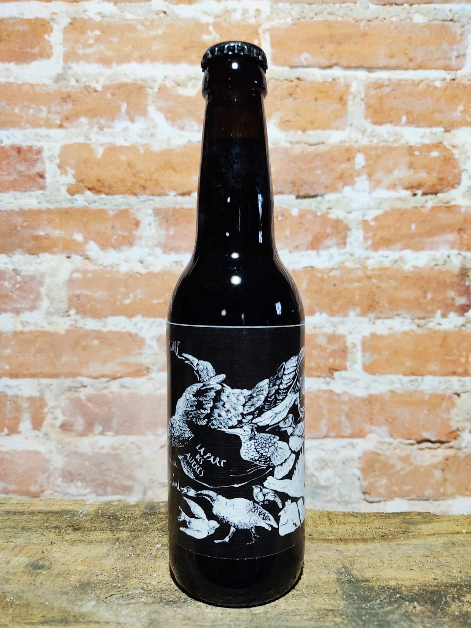 bière Noire La Brasserie La Part Des Autres Saint Just La Pendue