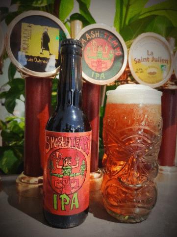 bière personnalisée SMASH IPA Totem et Tempo La Part Des Autres