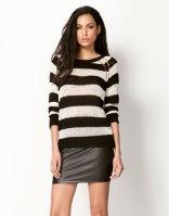 Jersey rayas blanco negro