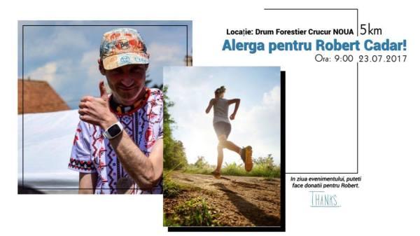 Alearga pentru Robert Cadar