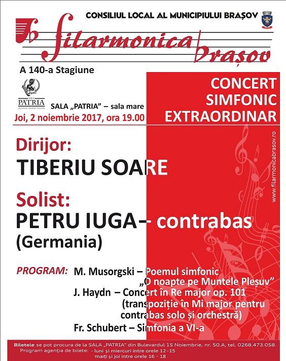 20171025-Filarmonica - concert 2 noiembrie 2017