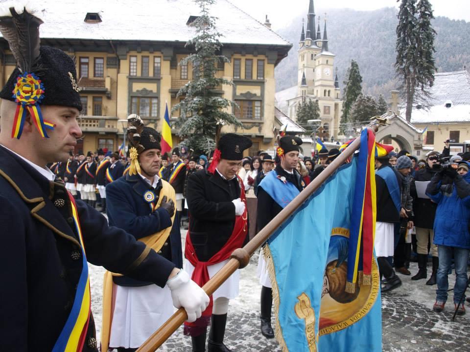 Ziua Nationala, alaturi de juni, in Piata Unirii